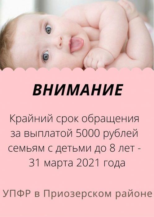 Выплата 5000